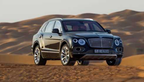 Bentley Bentayga Falconry by Mulliner 2017