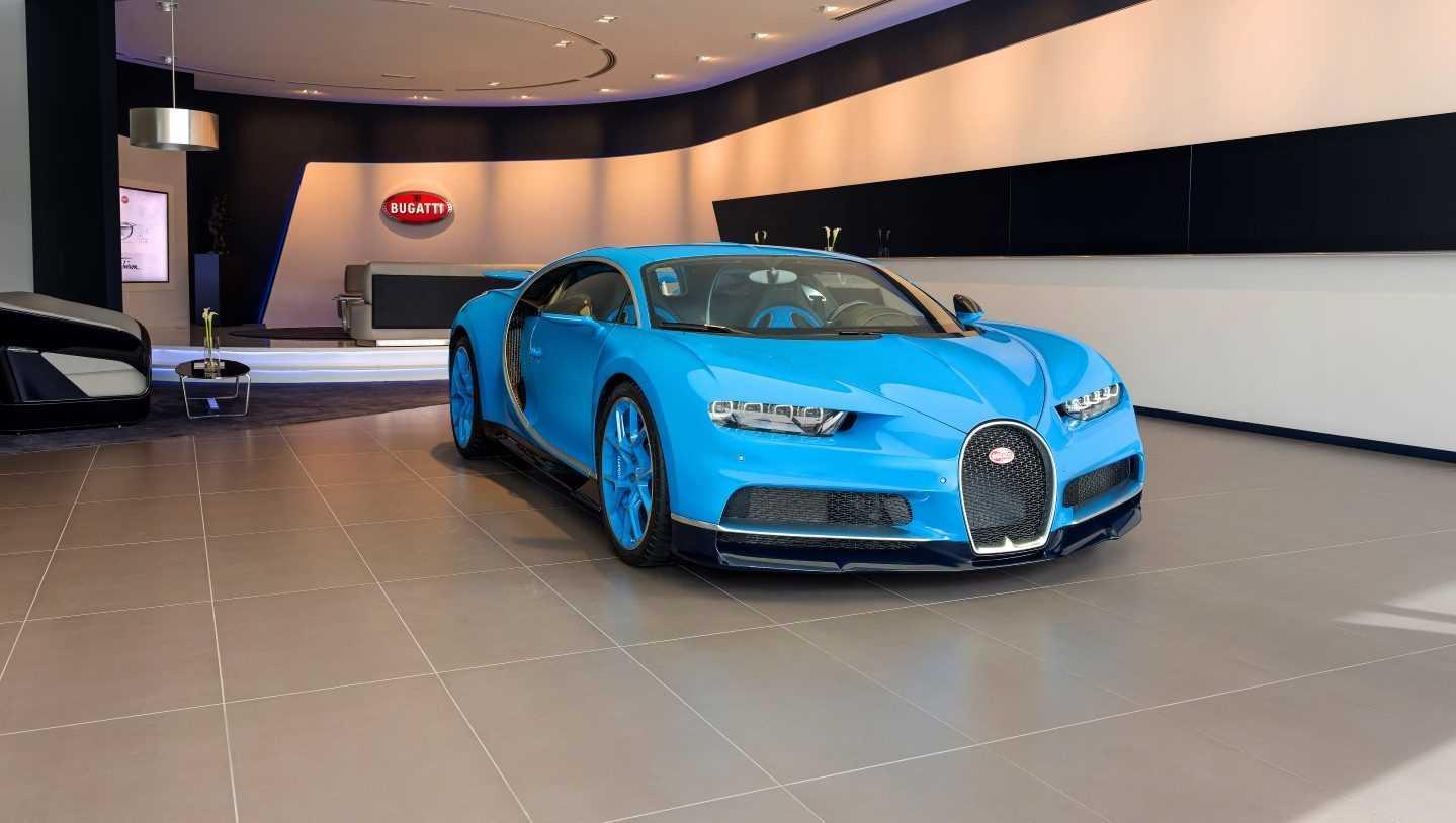 Bugatti-showroom Dubai 2017