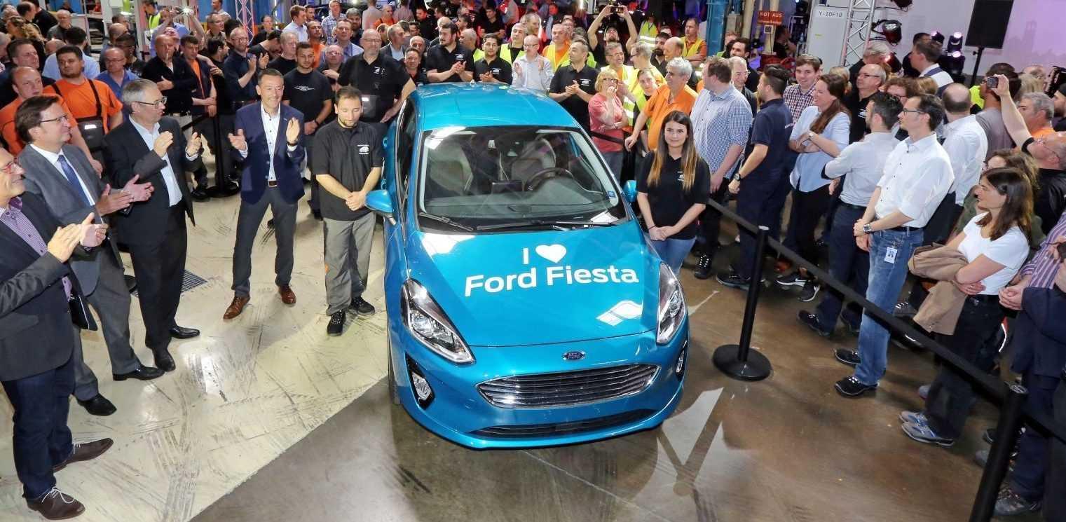 Ford Fiesta Launch Keulen 2017