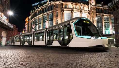 Peugeot Design Lab Alstom Citadis tram 2017