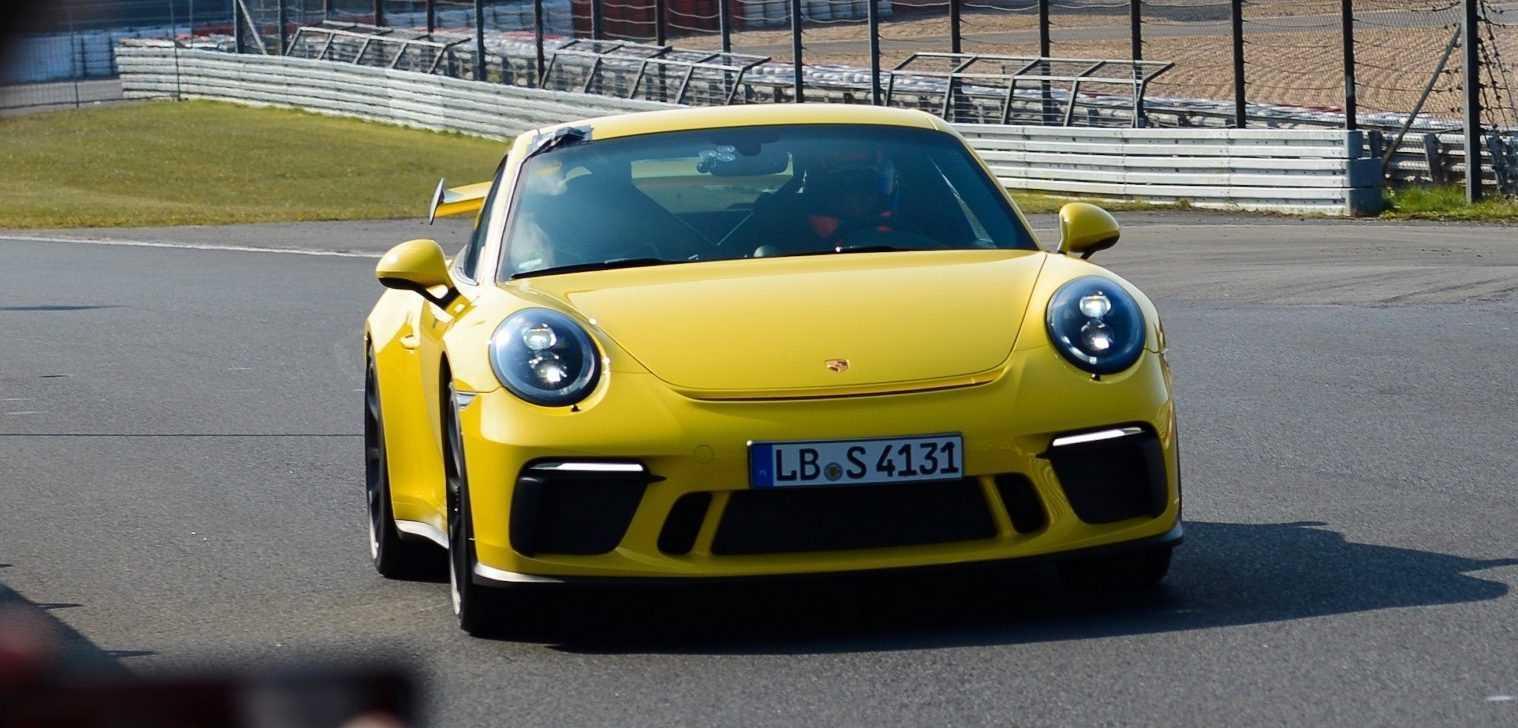 Porsche 911 GT3 Nordschleife 2017