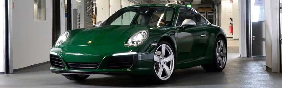 Porsche 911 One Millionth 2017