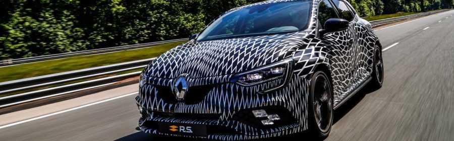Renault Mégane R.S. 2017 (prototype)