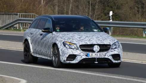 Mercedes-AMG E 63 Estate mule 2017