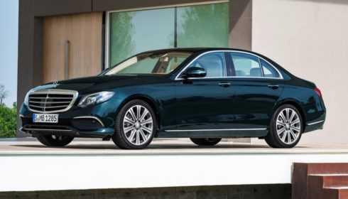 Mercedes-Benz E-Klasse Limousine 2016