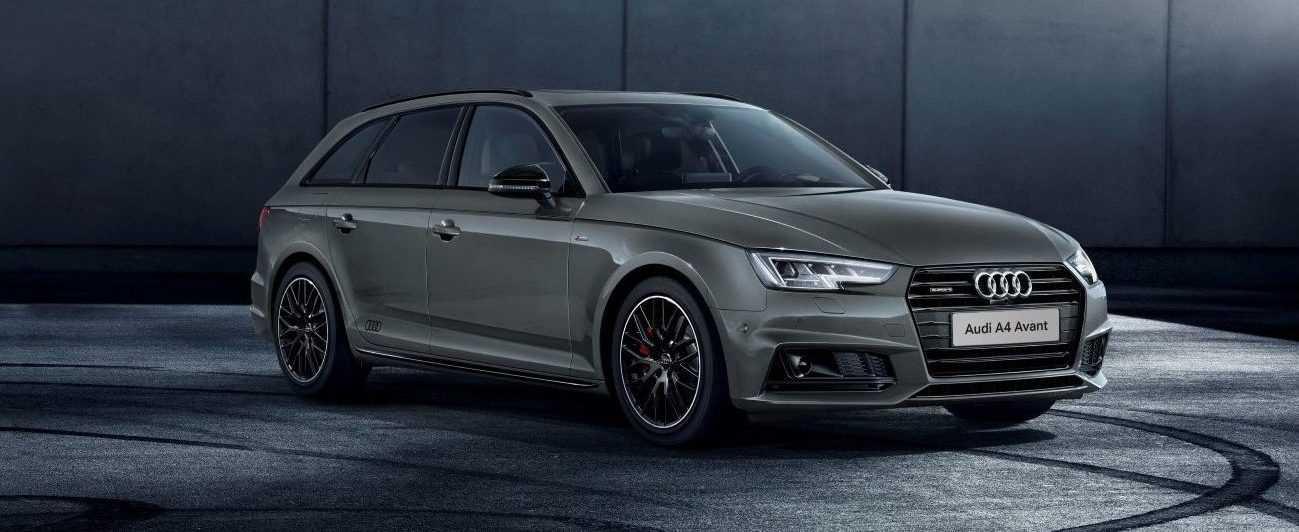 Audi A4 S line black edition 2017