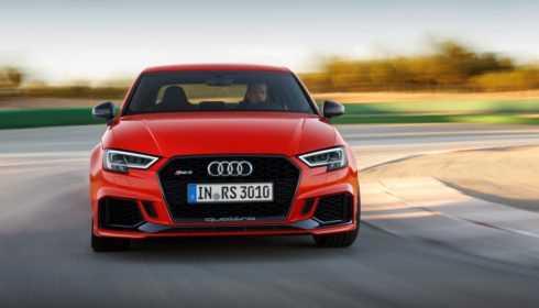 Audi RS 3 Limousine 2017