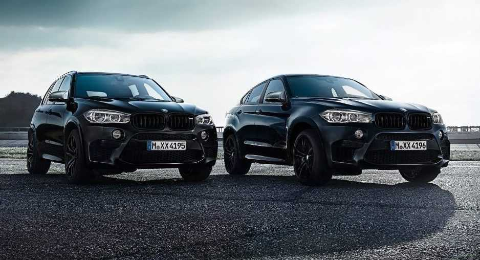 BMW X5 M en X6 M Black Fire Edition 2017