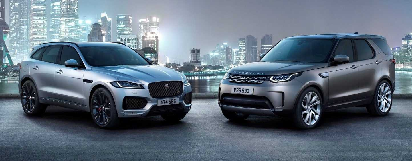 Jaguar F-Pace & Land Rover Discovery 2017