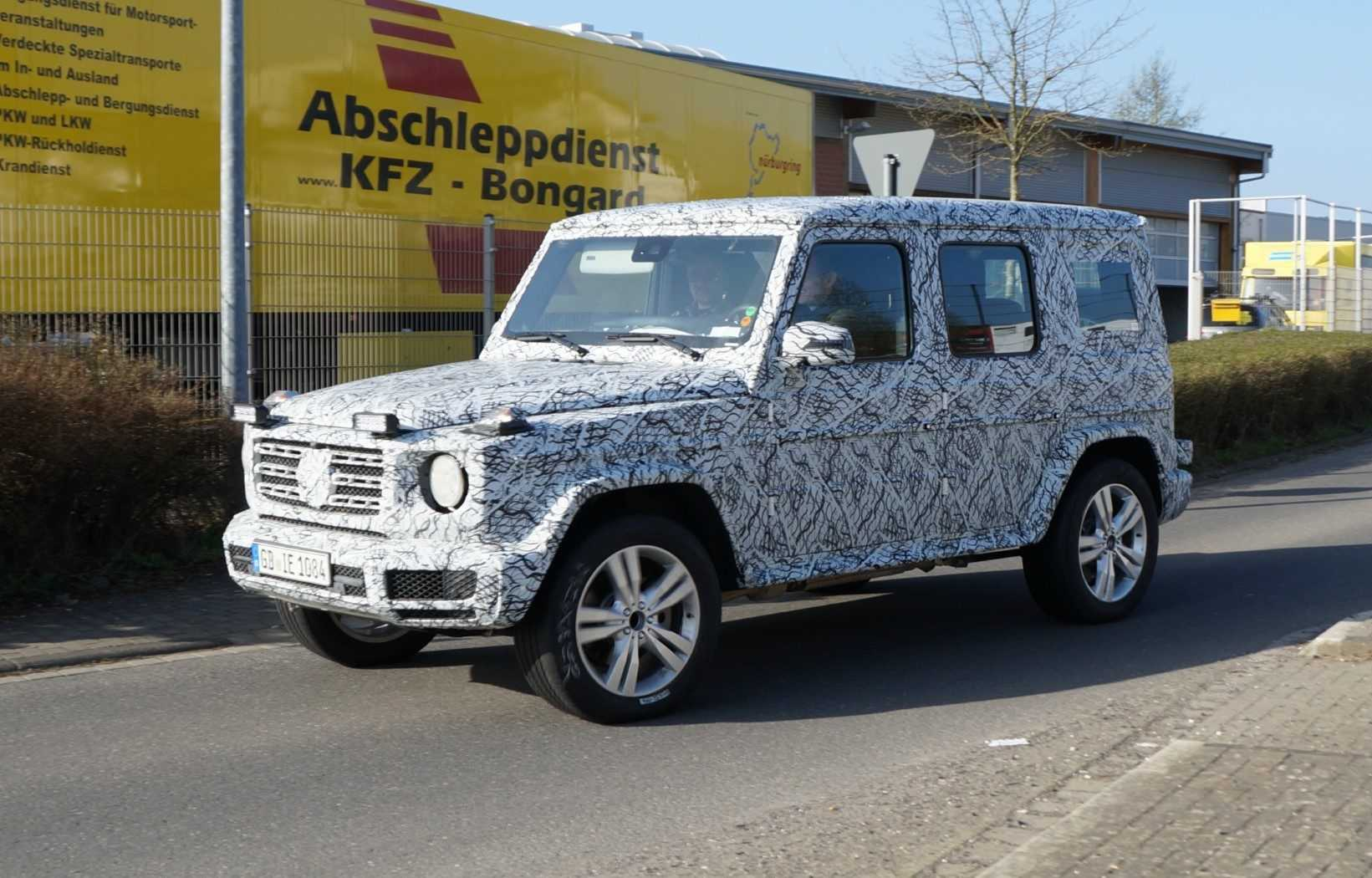 spionage opvolger mercedes benz g klasse gespot. Black Bedroom Furniture Sets. Home Design Ideas