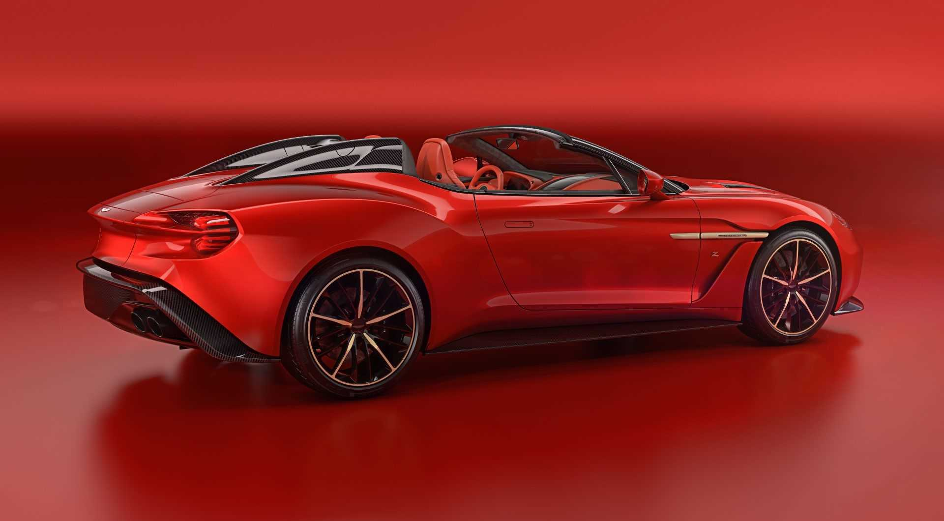 Aston Martin Vanquish Zagato Speedster 2017