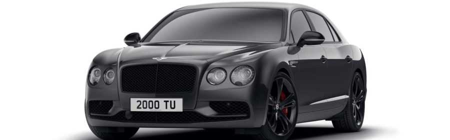 Bentley Flying Spur V8 S Black Edition 2017