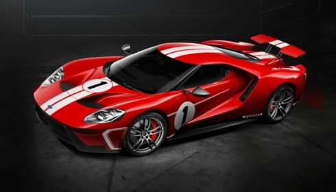 Ford GT '67 Heritage Edition 2017