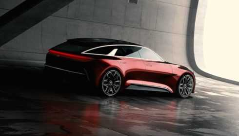 Kia hot hatch concept-car 2017
