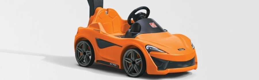 McLaren 570S Step2 Push Sports Car 2017