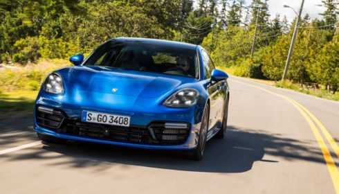 Porsche Panamera Turbo Sport Turismo 2017