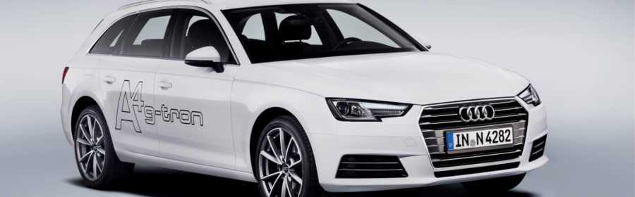 Audi A4 Avant g-tron 2017