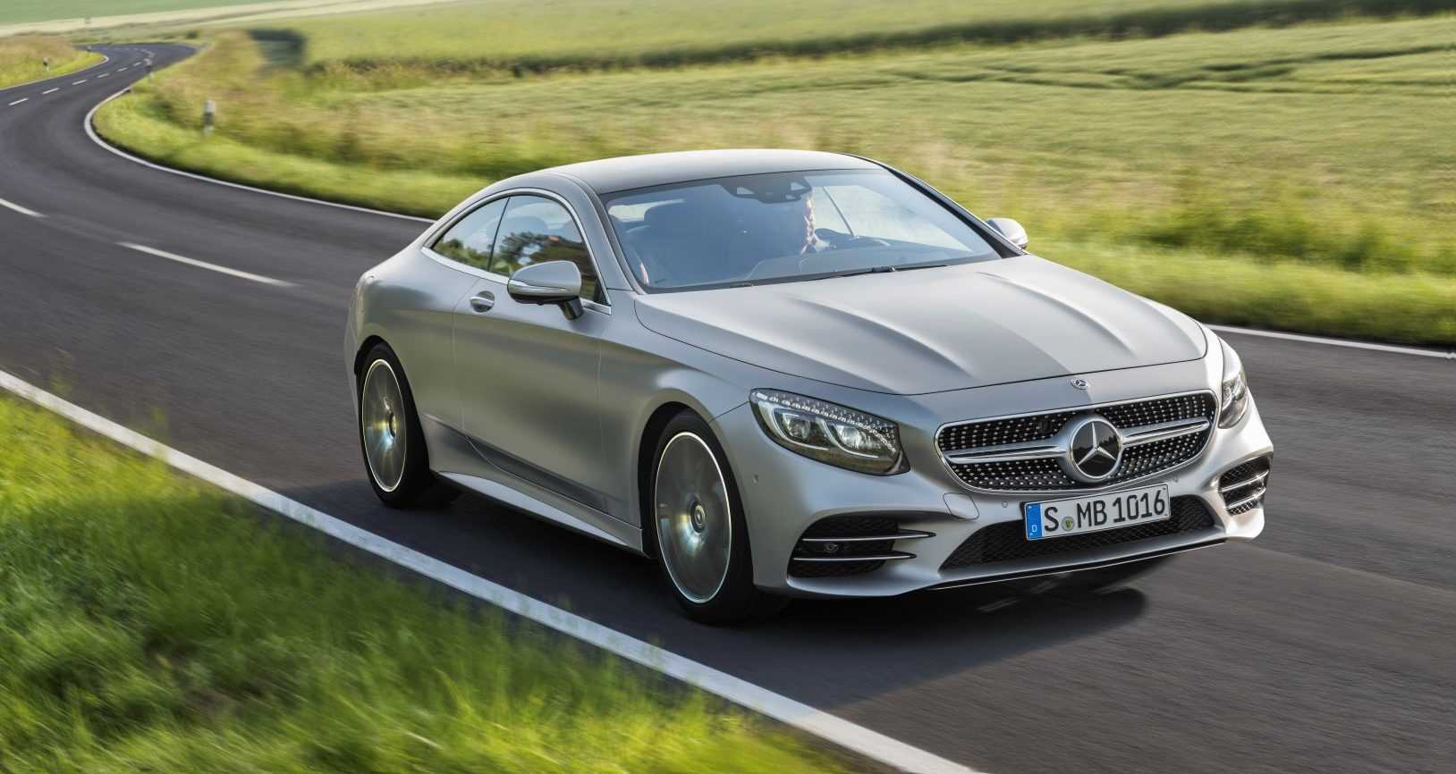 Mercedes-Benz S-Klasse Coupé 2017