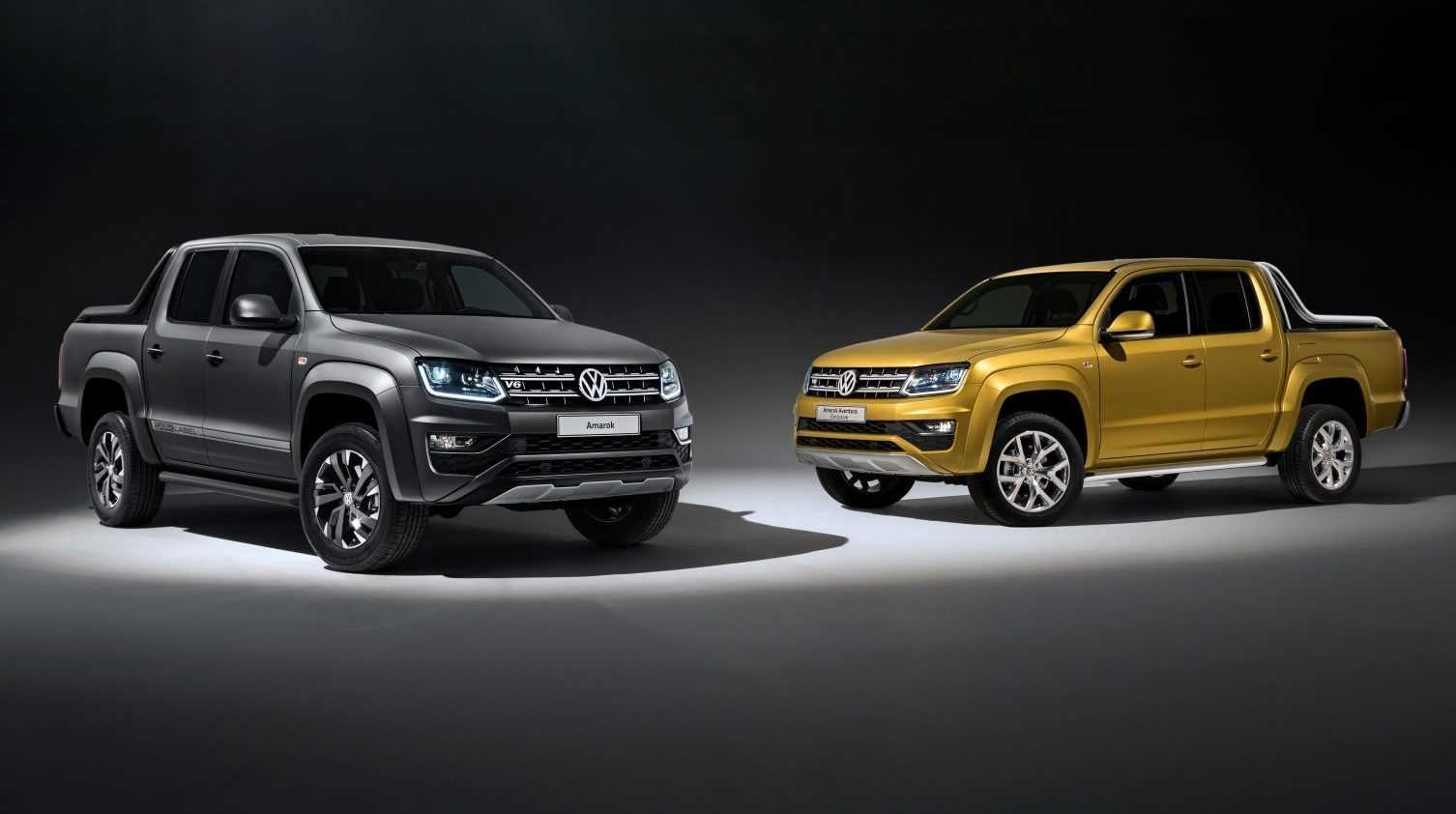 Volkswagen Amarok Aventura Exclusive Concept & Amarok Dark Label limited edition 2017