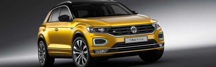 Volkswagen T-Roc R-Line 2018