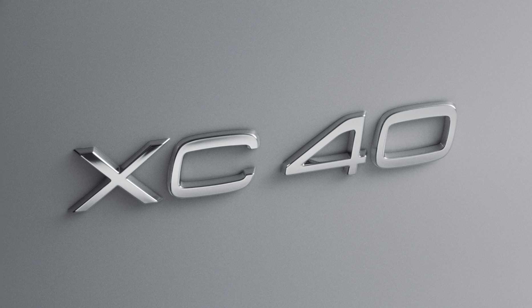 Volvo XC40 2018 (teaser)