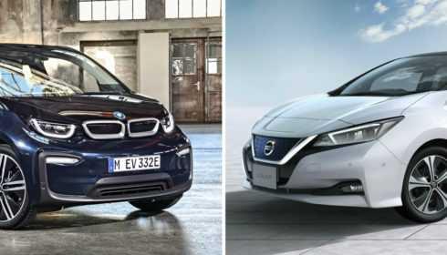 BMW i3 2017 vs. Nissan Leaf 2017 (vergelijking)