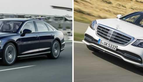 Audi A8 vs. Mercedes-Benz S-Klasse Limousine 2018 (vergelijking)