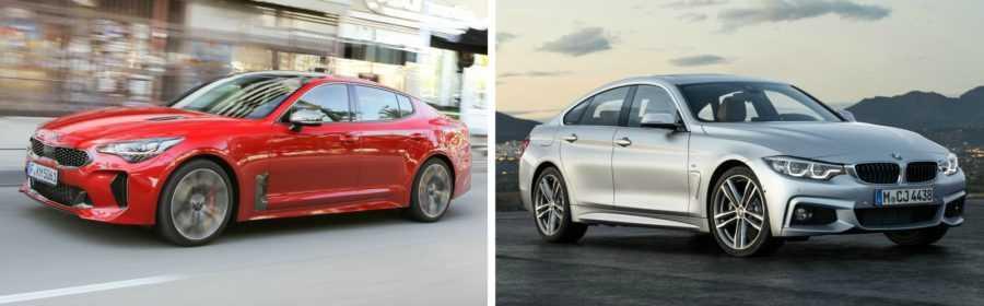 Kia Stinger vs. BMW 4 Serie Gran Coupé 2017 (vergelijking)