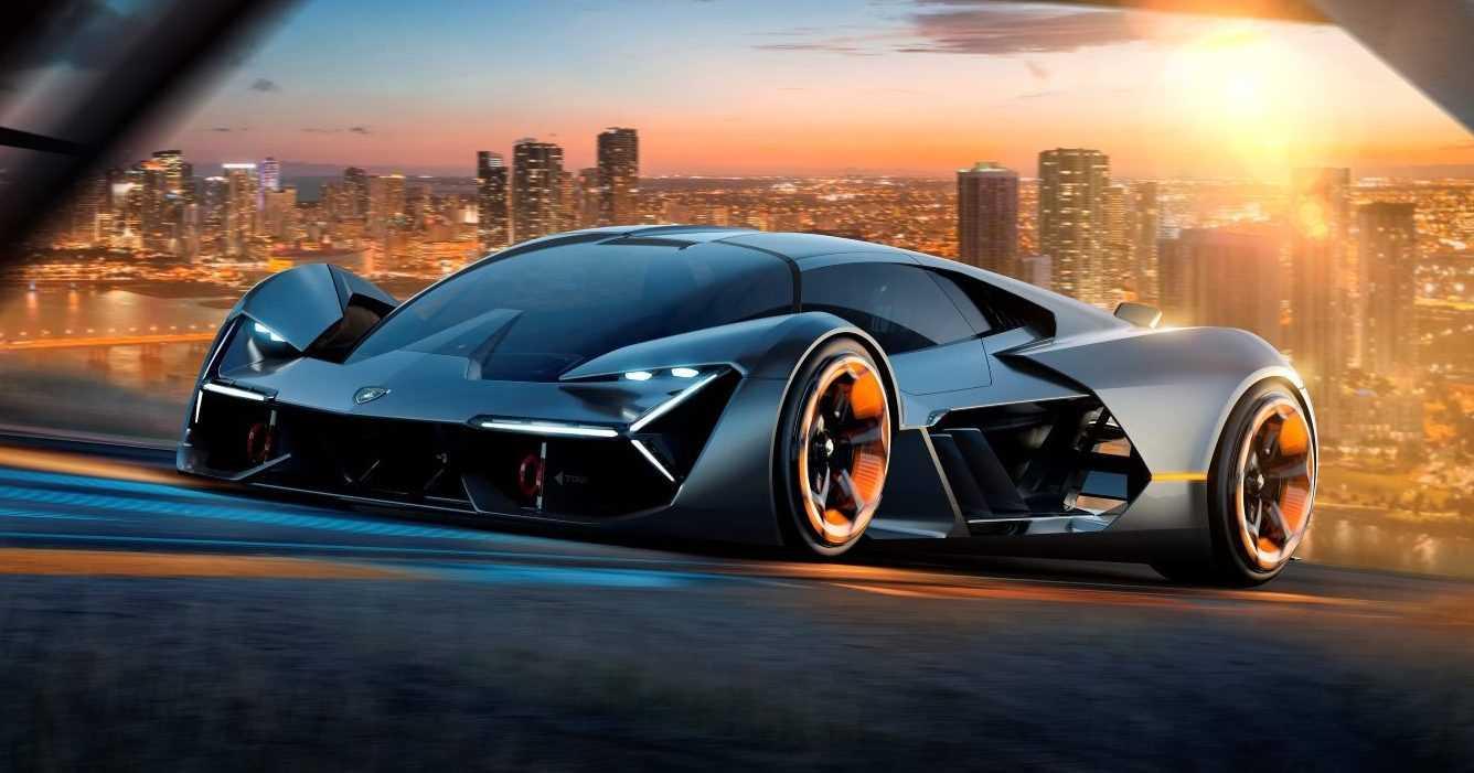 Lamborghini Terzo Millennio 2017