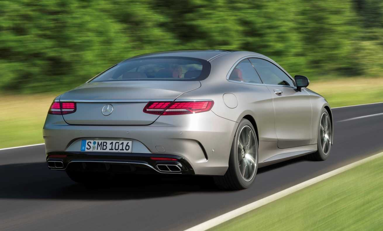 Mercedes-Benz S-Klasse Coupé 2018