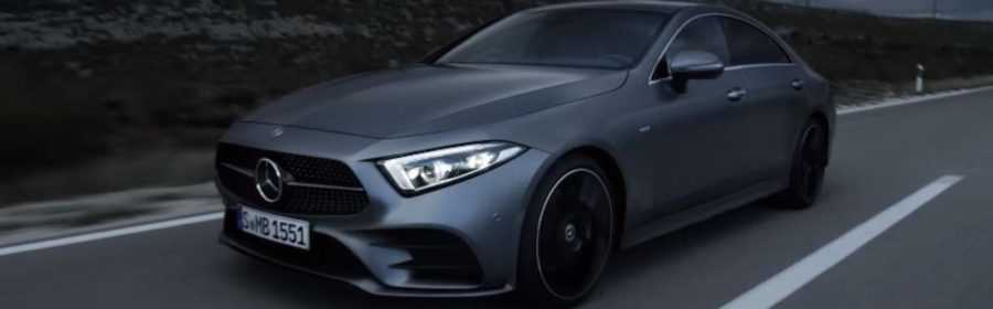 Mercedes-Benz CLS 2018 (video)