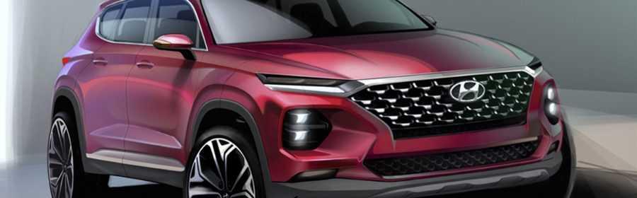 Hyundai Santa Fe 2018 (schets)