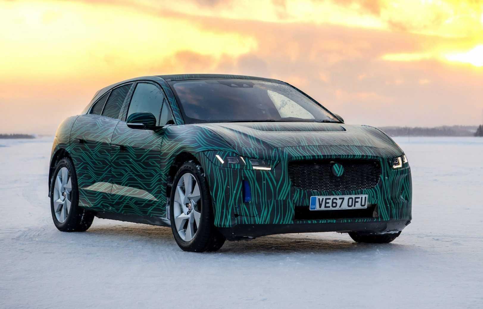 Jaguar I-Pace prototype 2018