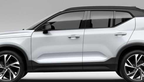 Volvo XC40 euro ncap