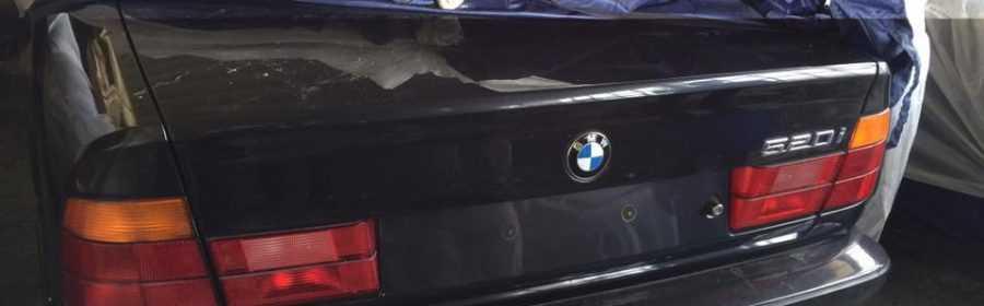 nieuwe BMW youngtimer