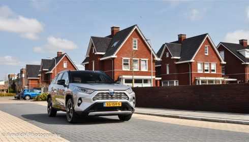 Toyota RAV4 hybrid rijtest