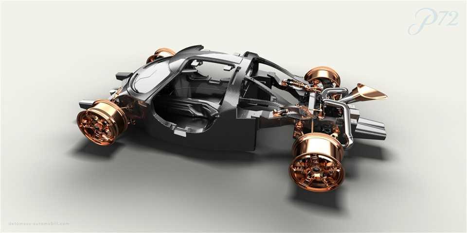 De Tomaso chassis