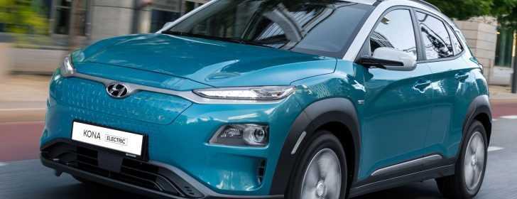 actieradius Hyundai KONA Electric