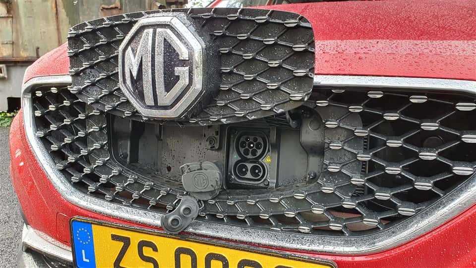 MG ZS EV 80 kW DC 11 kW AC