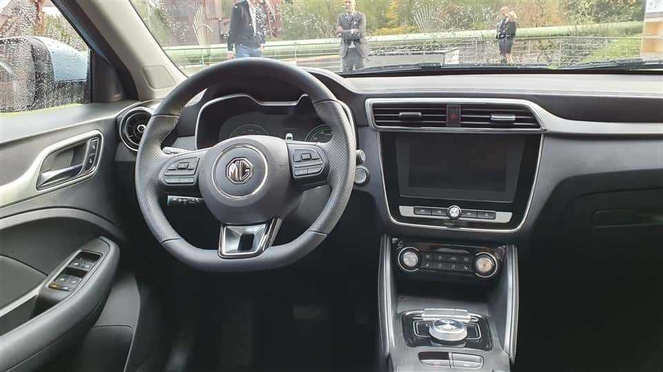 MG ZS EV interieur