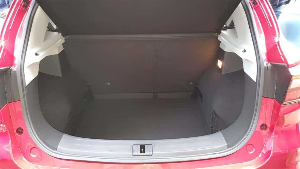 MG ZS EV 448 liter bagageruimte