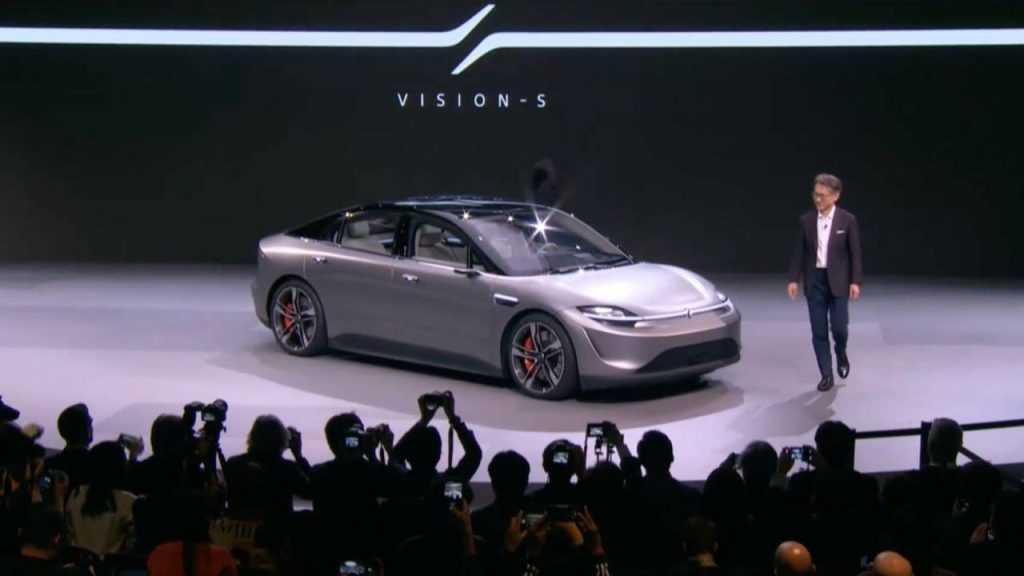 Sony auto Sony Vision-S auto