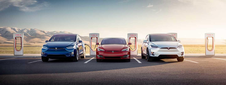 nieuwe Tesla Supercharger