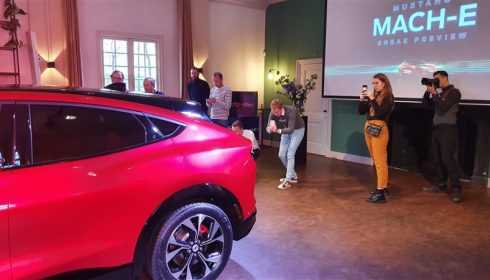 Ford Mustang Mach E introductie