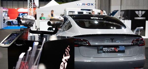 Milltek Tesla Model 3