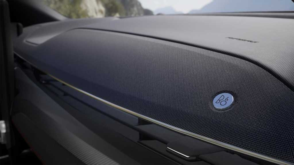 Ford Mustang Mach-E B&O Soundbar