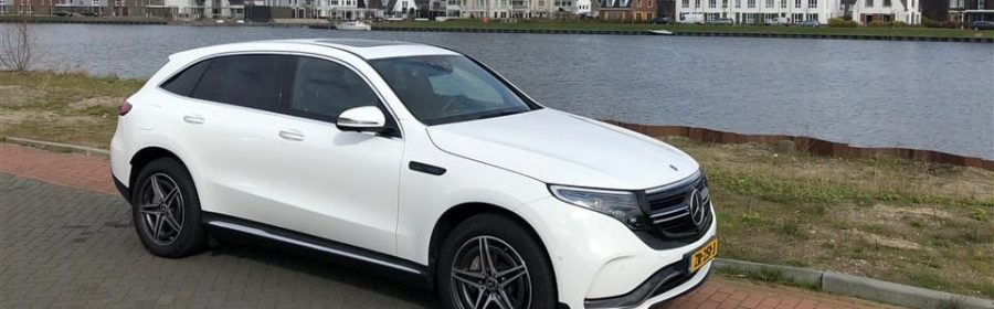 rijtest Mercedes EQC