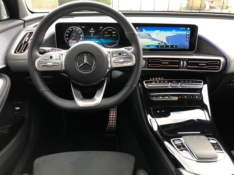 Mercedes-Benz EQC interieur