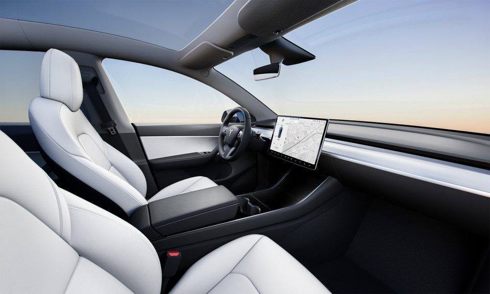 Interieur Tesla Model Y