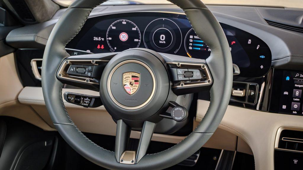Porsche Taycan stuurwiel